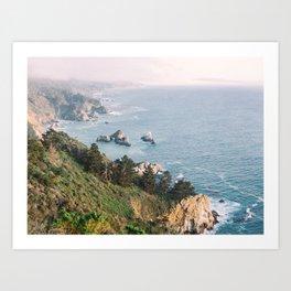 Big Sur California Coast Highway Art Print