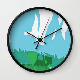 Grounding Wall Clock