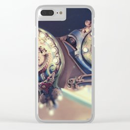 Dreamy Carousel Clear iPhone Case