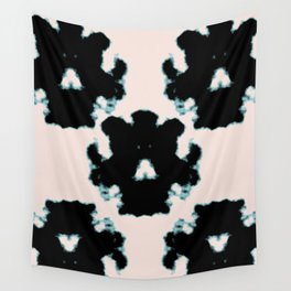 Rorschach inkblot Wall Tapestry