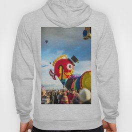Fancy and Cute Hot Air Balloon Fish Hoody