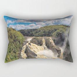 Magnificent Barron Falls in Queensland Rectangular Pillow