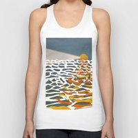 lighthouse Tank Tops featuring lighthouse by gazonula