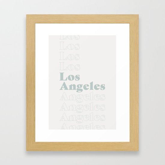 Los Angeles Type - Blue by scissorhaus