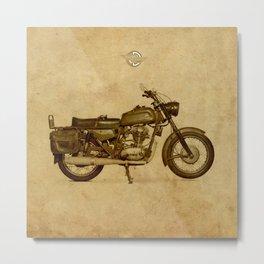 Ducati motorcycle Meccanica Metal Print