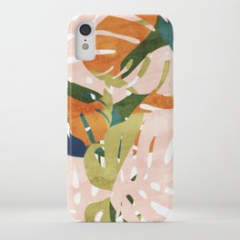 Monstera delight iPhone Case