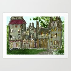 Fonthill Castle  Art Print