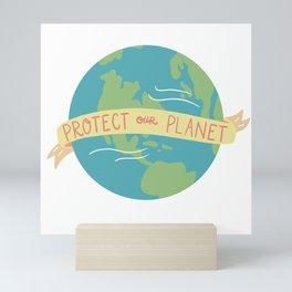 Protect Our Planet Mini Art Print