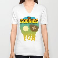 the goonies V-neck T-shirts featuring The Goonies by tuditees