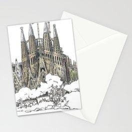 Sagrada Familia, Barcelona Stationery Cards
