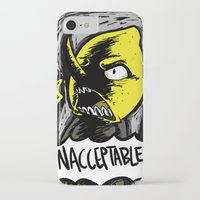 lemongrab iPhone & iPod Cases featuring UNACCEPTABLE!!! by Eevachu