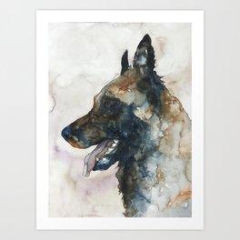 DOG #3 Art Print