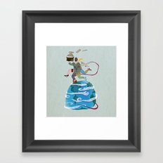 Fuga - Escape Framed Art Print