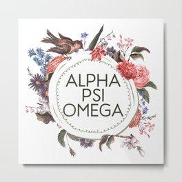 Alpha Psi Metal Print