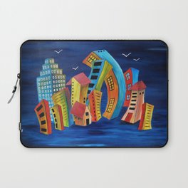 The Floating City Laptop Sleeve