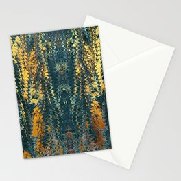 gold cactus marble Stationery Cards