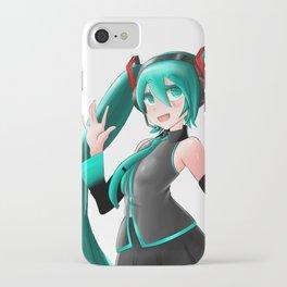 Hatsune Miku Wave iPhone Case