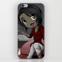 western iPhone & iPod Skins featuring Western Marathon by RakiParra