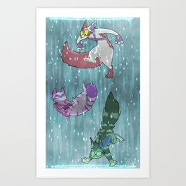Fighting Dreamers- Thinking With Portals (V2) Art Print
