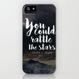 You could rattle the stars (stag included) iPhone Case