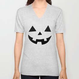 Happy Jack-O-Lantern Unisex V-Neck