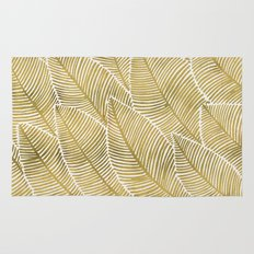 Tropical Gold Rug