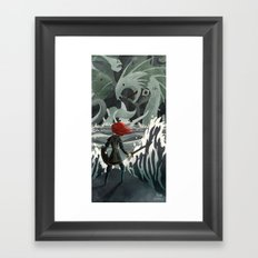 Sea Monsters Framed Art Print