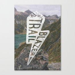 Trail Blazer Canvas Print