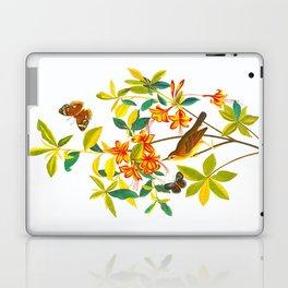 Vintage Floral Illustration Laptop & iPad Skin