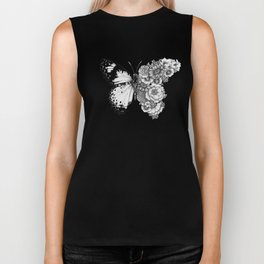 Butterfly in Bloom Biker Tank