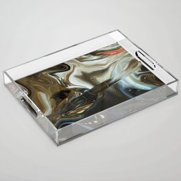 Imagine what is in your mind Acrylic Tray
