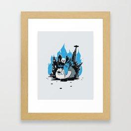 Arsonist Framed Art Print
