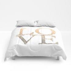 GOLD LOVE Comforters