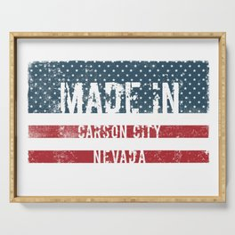 Made in Carson City, Nevada Serving Tray
