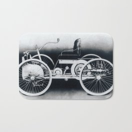 Ford quadricycle Bath Mat