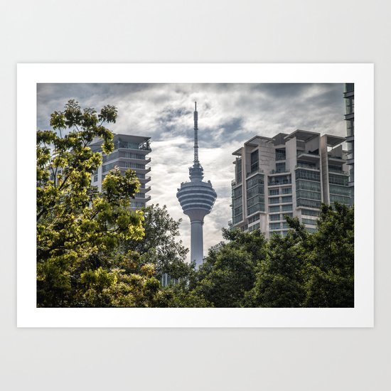 The Tower That Ate People Art Print