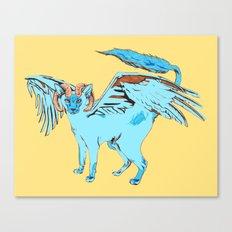 Cat Dragon Canvas Print