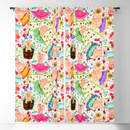 Dancing Pigs Blackout Curtain