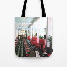inside the Grand Hotel Tote Bag