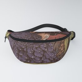 Black Cockatoo Fanny Pack