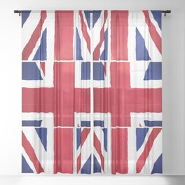 Brexit UK Sheer Curtain