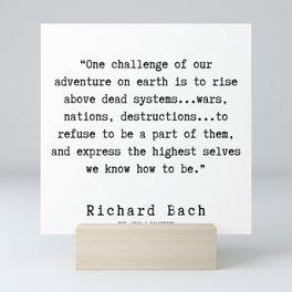 98  | Richard Bach Quotes | 190916 Mini Art Print