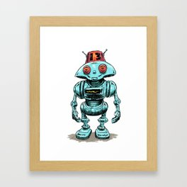 Little Robo Framed Art Print