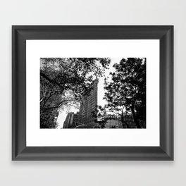 Flat Iron Framed Art Print