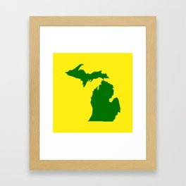 Michigan Football Framed Art Print