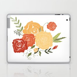 Rose Bouquet Laptop & iPad Skin
