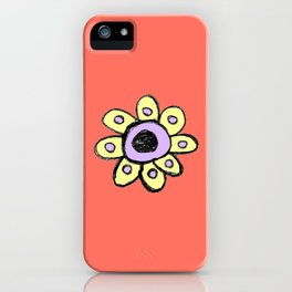 childish flower 2 iPhone Case