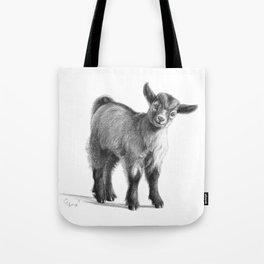 Goat baby G097 Tote Bag