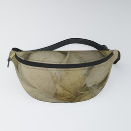 Piper - Dried Rose Scanography Portrait Fanny Pack