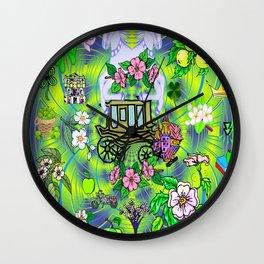 Quaint Goodness Wall Clock